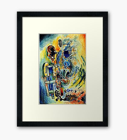 Edition #6 Framed Print