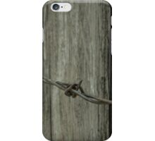 Barb Wire iPhone Case/Skin