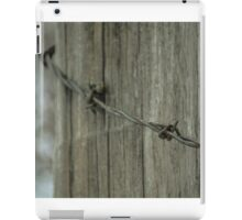Barb Wire iPad Case/Skin