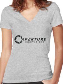 aperture innovations Women's Fitted V-Neck T-Shirt