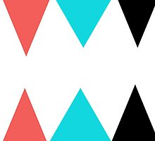 Colorful Arrows (Red, Blue and Black) by KirstenJRenfroe