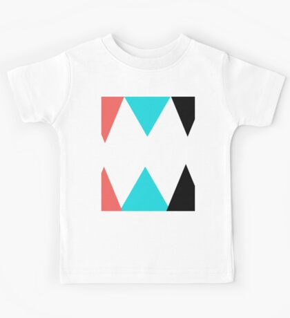 Colorful Arrows (Red, Blue and Black) Kids Tee