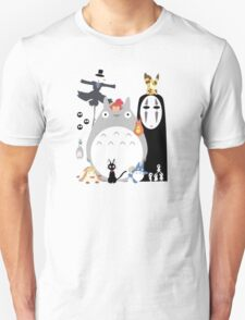gang Ghibli studio T-Shirt