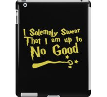 that i am up quote iPad Case/Skin