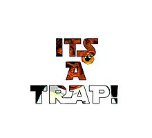 Its a Trap! Photographic Print