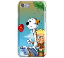 calvin ball hobbes iPhone Case/Skin