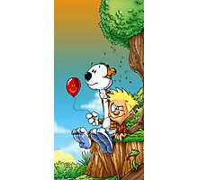 calvin ball hobbes Photographic Print