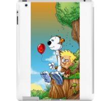 calvin ball hobbes iPad Case/Skin