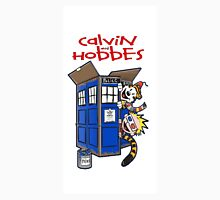 Calvin And Hobbes police box Unisex T-Shirt