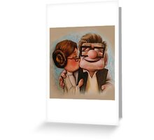 funny up mov Greeting Card