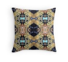 Cleopatra 1 by Stephanie Burns Throw Pillow