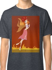 Fire Fairy Drawing - (Designs4You)  Classic T-Shirt