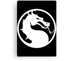 Mortal Kombat-Fight Canvas Print