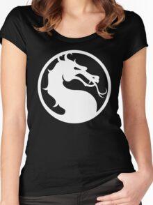 Mortal Kombat-Fight Women's Fitted Scoop T-Shirt