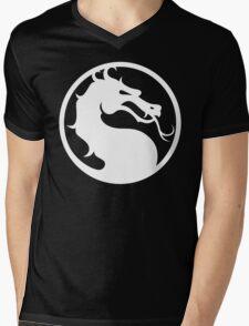 Mortal Kombat-Fight Mens V-Neck T-Shirt
