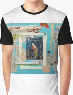 The Belle Epoque Collage Graphic T-Shirt