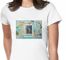 The Belle Epoque Collage Womens Fitted T-Shirt