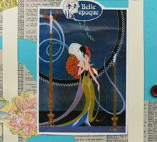 The Belle Epoque Collage Sticker