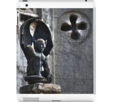 Black Gargoyle iPad Case/Skin