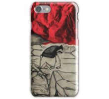 Red Scare iPhone Case/Skin