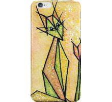 cat and tulip iPhone Case/Skin