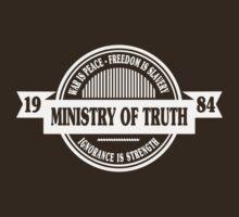 George Orwell 1984 Ministry of Truth funny nerd geek geeky by srihutami121