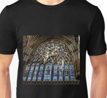 Stained Glass Window.. Exeter Cathedral. Devon UK Unisex T-Shirt