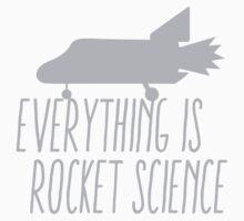 Everything is ROCKET SCIENCE! Kids Tee