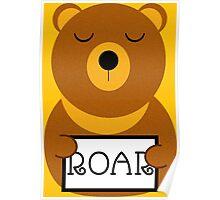 Hear the roar Poster