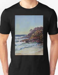 Southern end of Rainbow beach at dusk Unisex T-Shirt