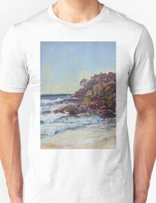 Southern end of Rainbow beach at dusk Unisex T-Shirt
