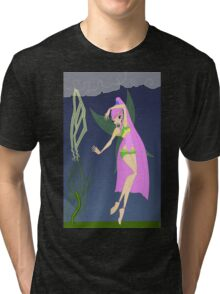 Nature and Storms Fairy - (Designs4You) Tri-blend T-Shirt