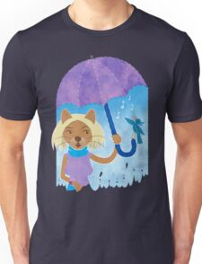 Cool cats and noisy neighbours on a rainy day Unisex T-Shirt