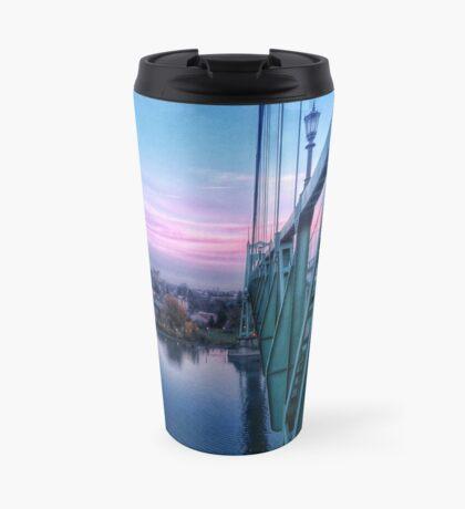 St Johns Bridge Side Travel Mug