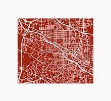 Durham Map - Dark Red Unisex T-Shirt