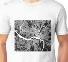 Richmond Map - Black Unisex T-Shirt