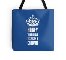 Sherlock Moriarty See me in a crown Tote Bag