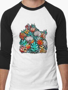 Spider Mum Garden Men's Baseball ¾ T-Shirt