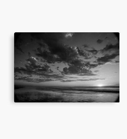 Ocean Beach Sunset, West Coast Tasmania 4 Canvas Print