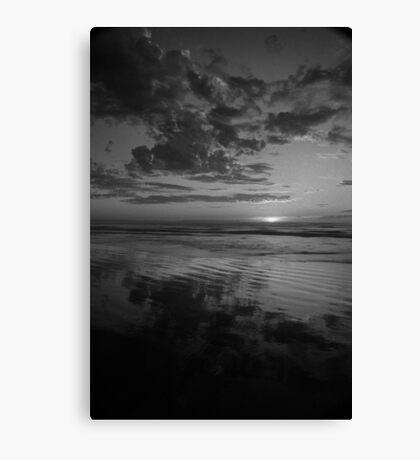 Ocean Beach Sunset, West Coast Tasmania 5 Canvas Print
