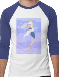 Air Fairy Drawing - (Designs4You) Men's Baseball ¾ T-Shirt