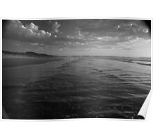 Ocean Beach Sunset, West Coast Tasmania 6 Poster