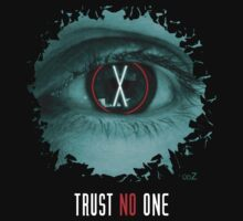 X eyes trust no one by Udezigns