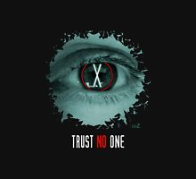 X eyes trust no one Unisex T-Shirt