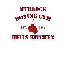 murdock boxing Photographic Print