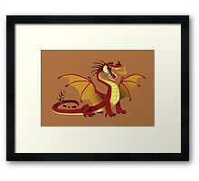 Lesser Fire Dragon Framed Print