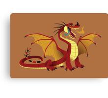 Lesser Fire Dragon Canvas Print