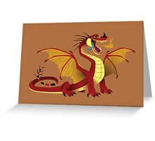 Lesser Fire Dragon Greeting Card