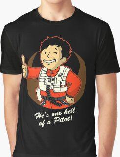 Fighter Pilot Boy Graphic T-Shirt