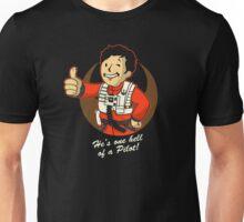 Fighter Pilot Boy Unisex T-Shirt